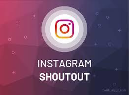 shoutout instagram 2