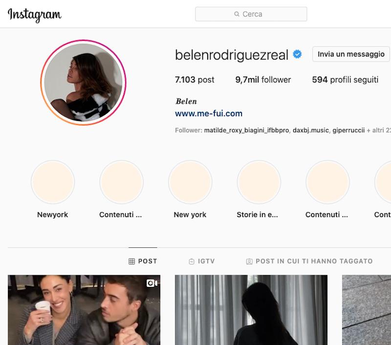 Belen Rodriguez Instagram. Successo a 360 gradi!