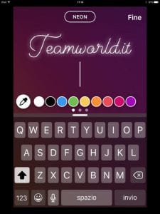 Cambiare font instagram- visibility reseller