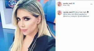 Wanda Nara Instagram e i 6 mln di follower