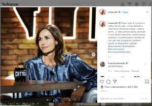 Cristina Parodi su Instagram- Visibility Reseller
