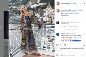 Elena Santarelli su Instagram- Visibility Reseller