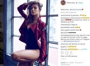 Elisabetta Canalis su Instagram- Visibility Reseller