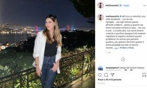Melissa Satta su Instagram- Visibility Reseller