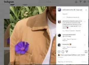 Stefano De Martino su Instagram- Visibility Reseller