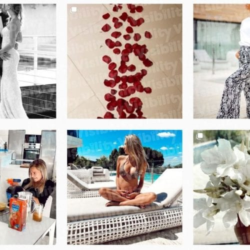 Alice Campello su Instagram- Visibility reseller