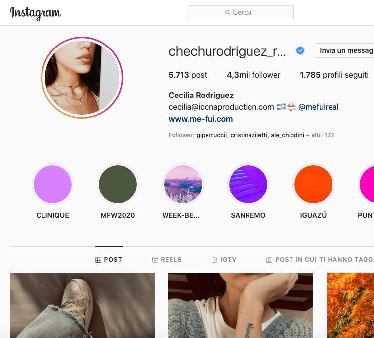 Cecilia Rodriguez Instagram, scopriamo il profilo in 2 minuti!