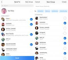 creare gruppo instagram