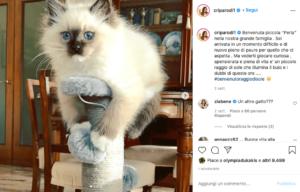 cristina parodi su instagram