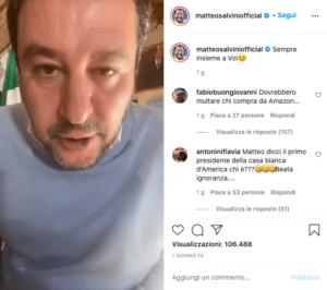 matteo salvini instagram 4