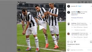 Juventus su Instagram- Visibility Reseller