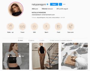 Natalia Paragoni Instagram 1