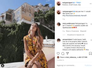 Natalia Paragoni Instagram