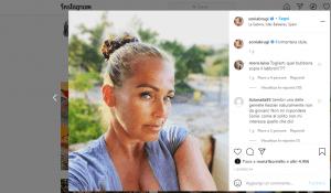 Sonia Bruganelli su Instagram- Visibility Reseller