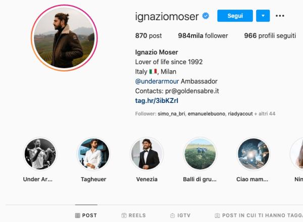 ignazio moser instagram